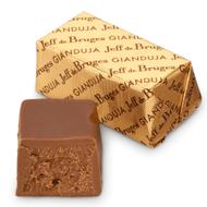 Chocolat Jeff de Bruges - Bloc gianduja