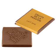 Chocolat Jeff de Bruges - Carré lait passion