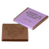Chocolat Jeff de Bruges - Carré lait caramel