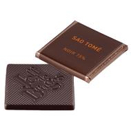 Chocolat Jeff de Bruges - Carré noir Sao Tomé 75%