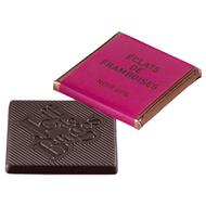 Chocolat Jeff de Bruges - Carré noir framboise