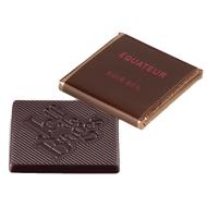 Chocolat Jeff de Bruges - Carré noir Equateur 80%