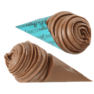 Chocolat Jeff de Bruges - Cornet bleu