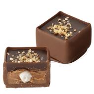 Chocolat Jeff de Bruges - Petite meringue mangue