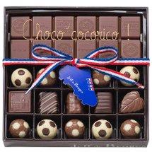 La collection de chocolats foot pour la fête des pères et l'Euro 2020 2021 par Jeff de Bruges