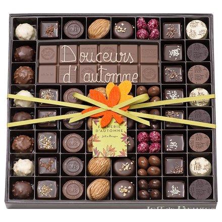 La collection de chocolats d'automne par Jeff de Bruges